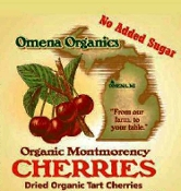 "Bulk - Organic Dried ""No Added Sugar"" Montmorency Tart Cherries"