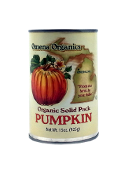 Organic Solid Pack Pumpkin