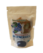 Organic Dried Wild Blueberries
